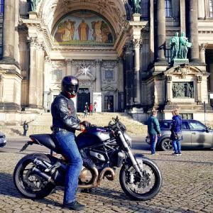 Grzegorz Ducati Monster 821